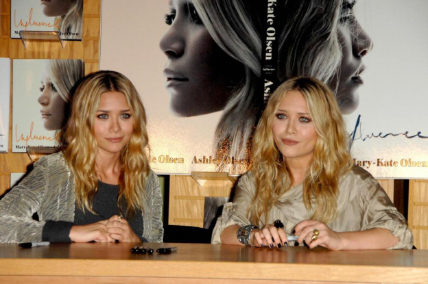 Olsen Twins' Beachy Waves