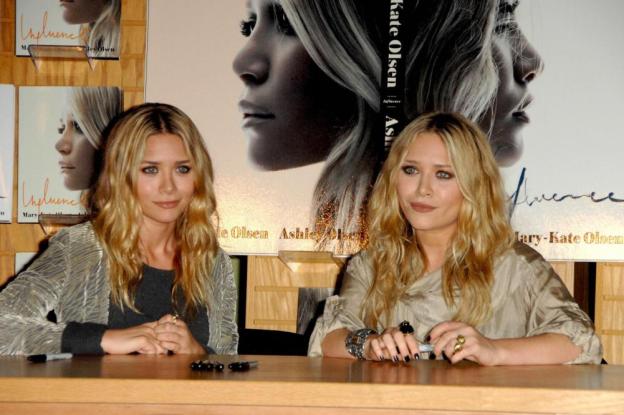 Olsen Twins' Beachy Waves