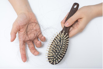 Aggressively Brush Wet Hair