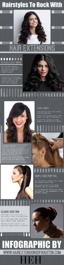 Hair Styles To Rock With Hair Extensions