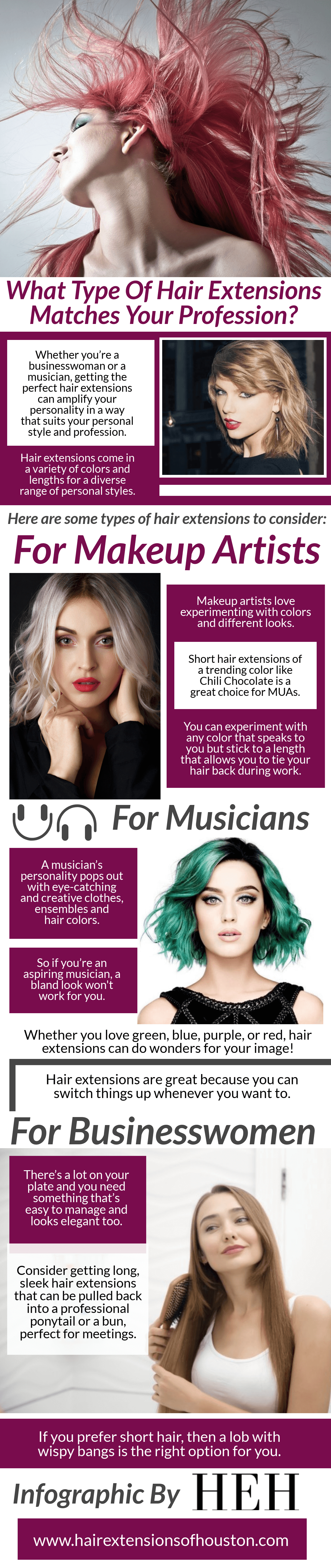 Types Of Hair Extensions Matches Your Profession